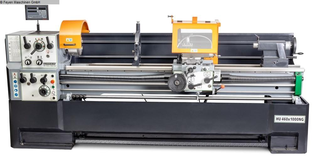 gebrauchte Drehmaschinen Leit- und Zugspindeldrehmaschine HUVEMA HU 460  x 1000 NG