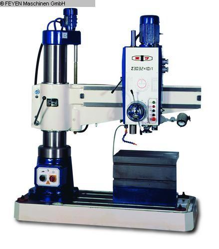 gebrauchte Radialbohrmaschine HUVEMA CRDM 32