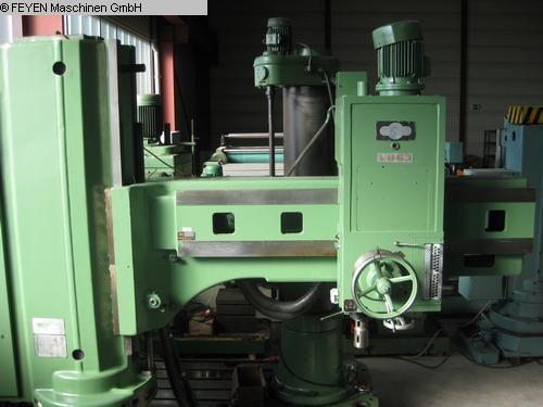 gebrauchte Bohrwerke / Bearbeitungszentren / Bohrmaschinen Radialbohrmaschine MAS VO 63