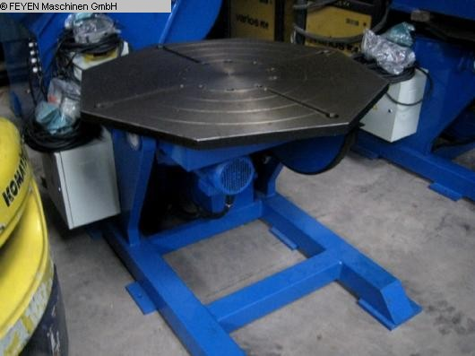 used Rotary Welding Table - Round Surface WELDING HB-10