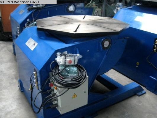 used Rotary Welding Table - Round Surface WELDING HB-30