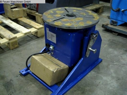 used Rotary Welding Table - Round Surface WELDING UWM-3
