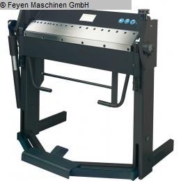 gebrauchte Blechbearbeitung / Scheren / Biegen / Richten Schwenkbiegemaschine HUVEMA HU 15 ES 1500