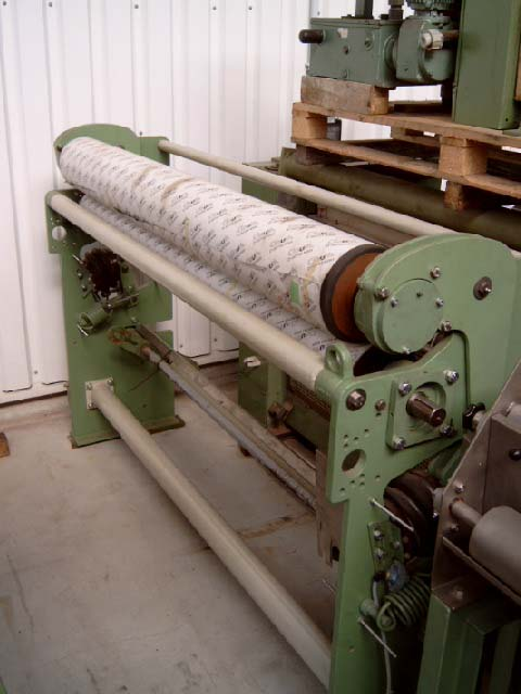 Machines textiles d'occasion Mangle KUESTERS, KREFELD 225.21 / 2000