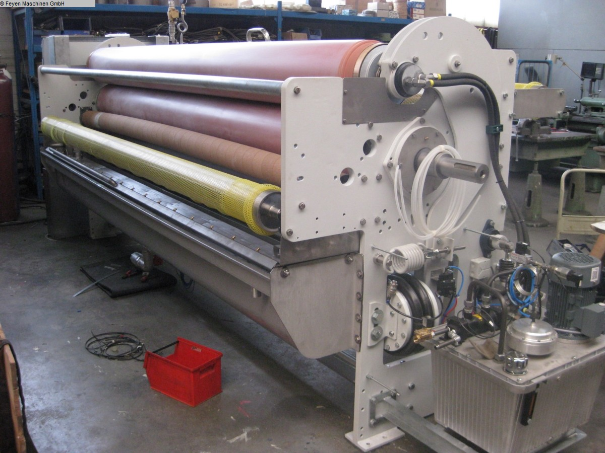 used Textile Machines Squeezing Mangle KUESTERS, KREFELD 222.66 / 3400