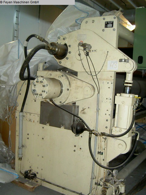 used Textile Machines Squeezing Mangle KUESTERS, KREFELD 222.60 / 6200
