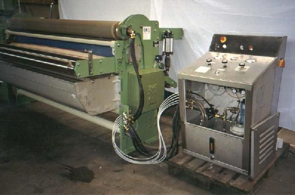Machines textiles d'occasion Presser Mangle KUESTERS, KREFELD 222.50 / 1800