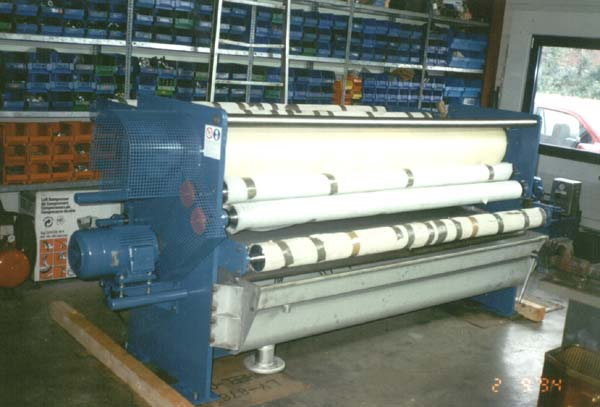 Machines textiles d'occasion Presser Mangle KUESTERS, KREFELD Umbau 134 / 2200