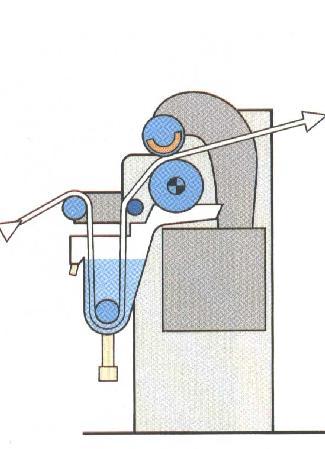 gebrauchte Textilmaschinen Hochleistungsquetschwerk KUESTERS, KREFELD 222.50 / 2000