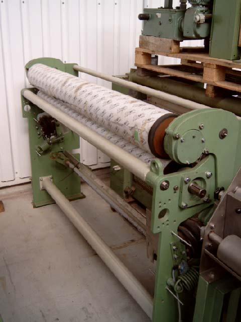 gebrauchte Textilmaschinen Zwischenquetschwerk KUESTERS, KREFELD 225.21 /  2200
