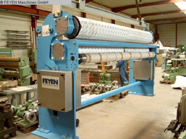 gebrauchte Textilmaschinen Zwischenquetschwerk KUESTERS, KREFELD 225.23 /  3200