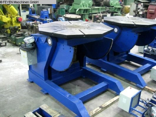 used Rotary Welding Table - Round Surface JWELDING HB-50