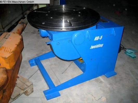 used Rotary Welding Table - Round Surface WELDING HB-5