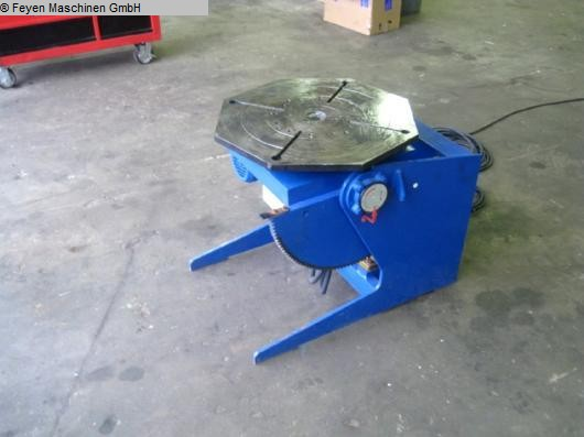 used Rotary Welding Table - Round Surface WELDING HB-2