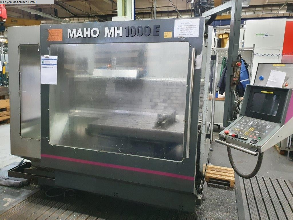 used Tool Room Milling Machine - Universal MAHO MH 1000 E