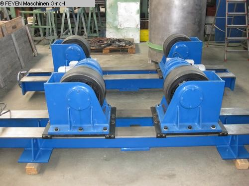 used Sheet metal working / shaeres / bending Vessel Turning Unit WELDING KTS - 30