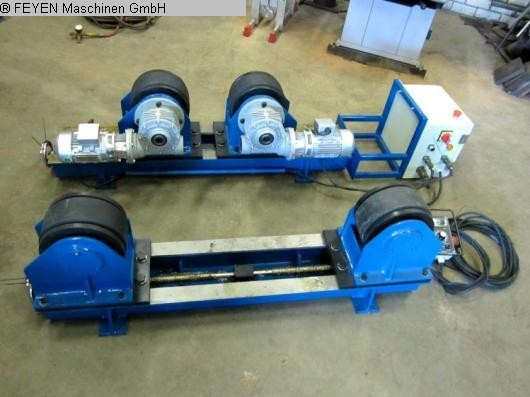 used Sheet metal working / shaeres / bending Vessel Turning Unit WELDING KTS - 3