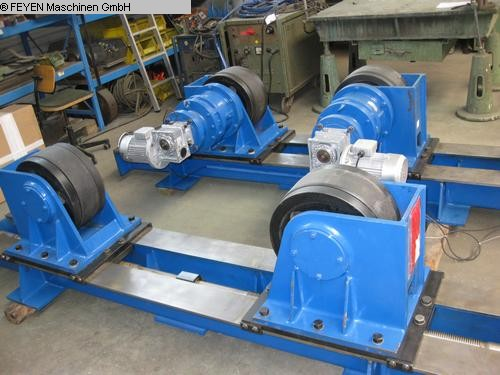 used Sheet metal working / shaeres / bending Vessel Turning Unit WELDING KTS - 20