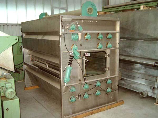 gebrauchte Waschmaschinen Breitwaschmaschine KUESTERS, KREFELD Compacta - 236.39 / 1800