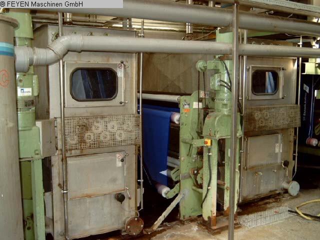 gebrauchte Waschmaschinen Rollenkufe-vertikal KUESTERS, KREFELD 234.02