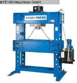 gebrauchte Pressen und Bördelmaschinen Werkstattpresse - hydraulisch PROFIPRESS 300T M/H-M/C2, D=1400