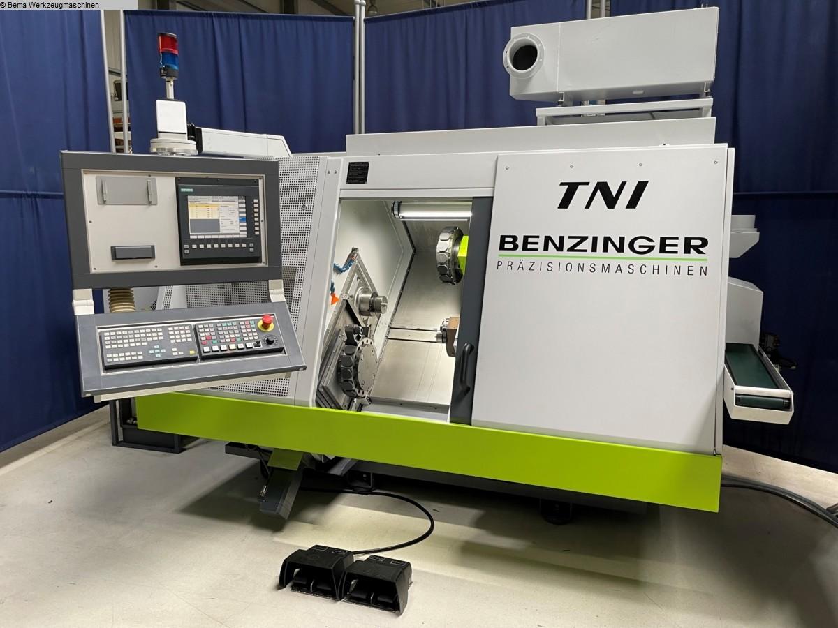 gebrauchte  CNC Drehmaschine BENZINGER TNI-B12