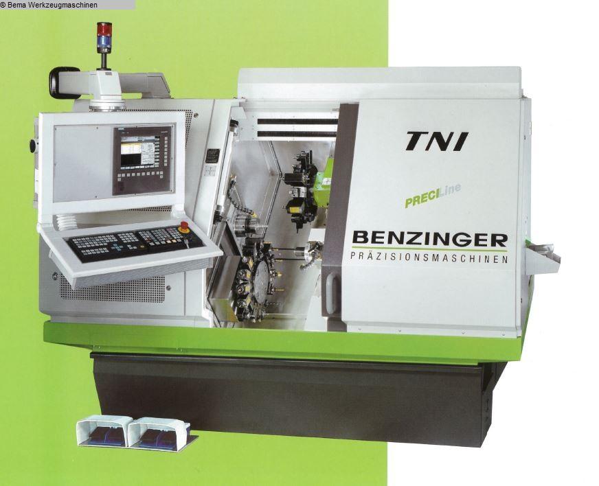 used  CNC Lathe BENZINGER TNI-B12