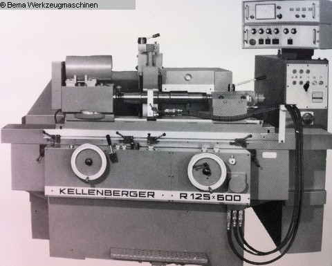 used  Cylindrical Grinding Machine KELLENBERGER R125-600