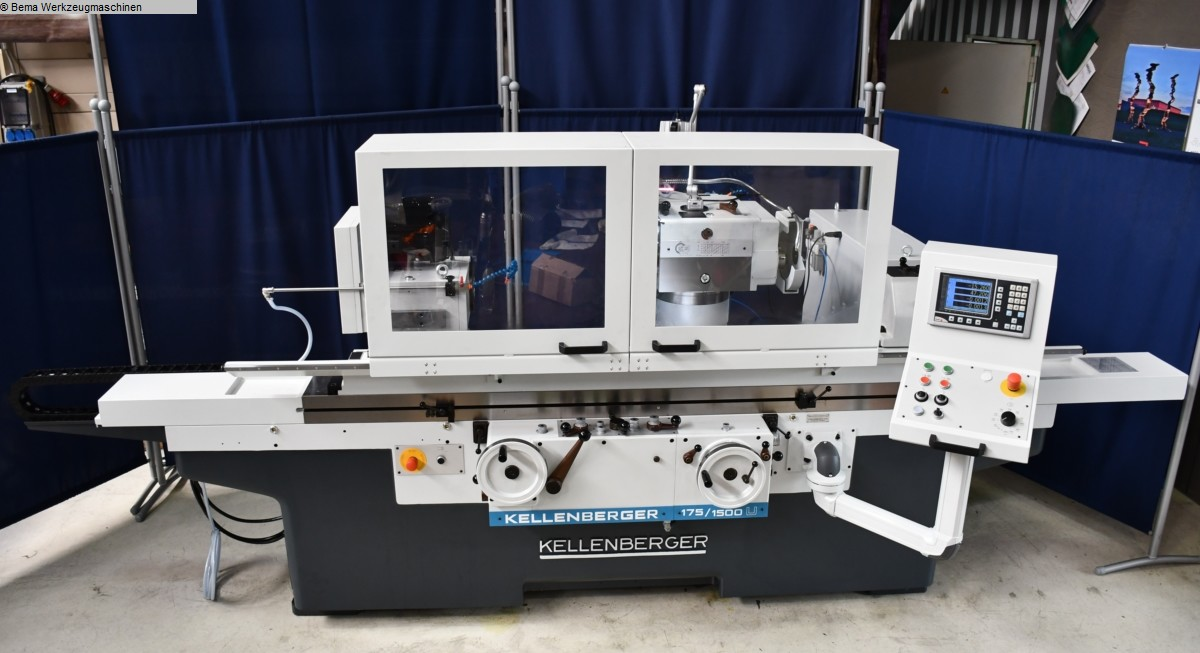 used  Cylindrical Grinding Machine - Universal KELLENBERGER 1500U BEMA Economic