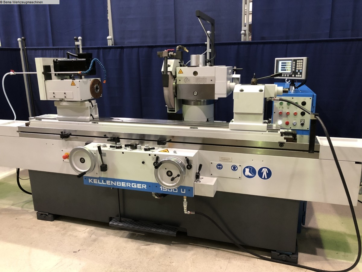 used  Cylindrical Grinding Machine - Universal KELLENBERGER 1500U BEMA Advance