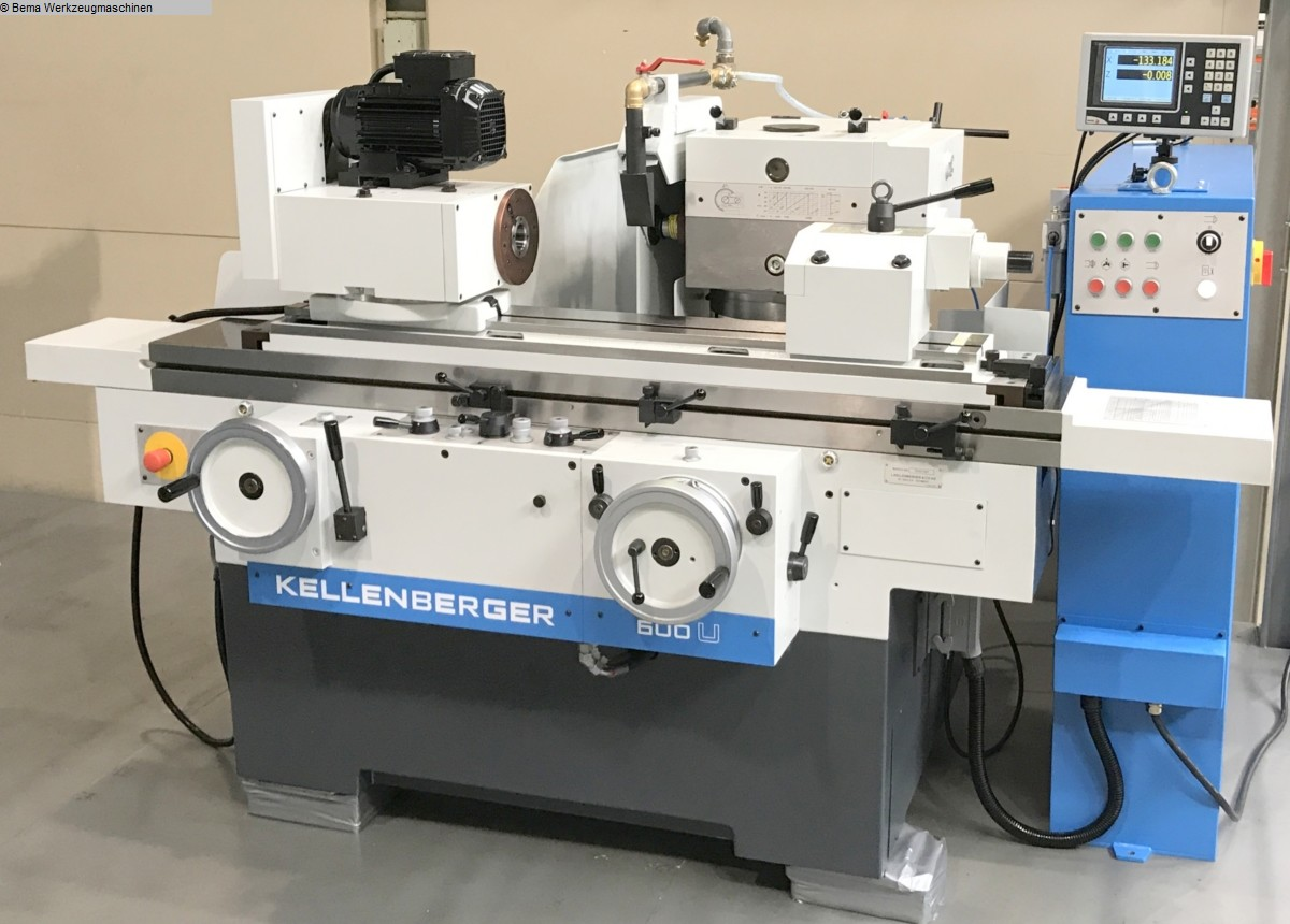 used Cylindrical Grinding Machine - Universal KELLENBERGER 600U BEMA Advance