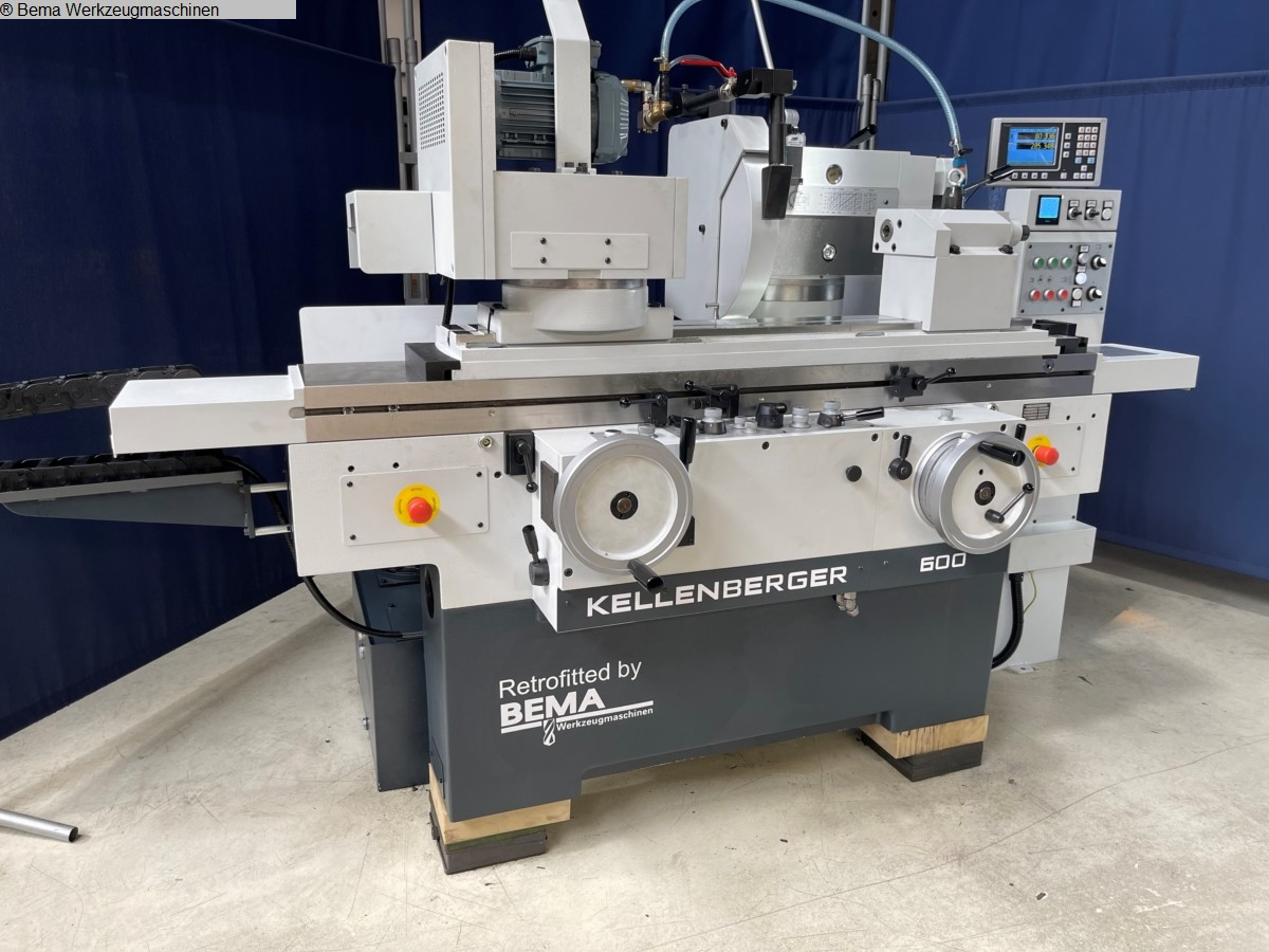 gebrauchte Schleifmaschinen Rundschleifmaschine - Universal KELLENBERGER 600U BEMA Advance