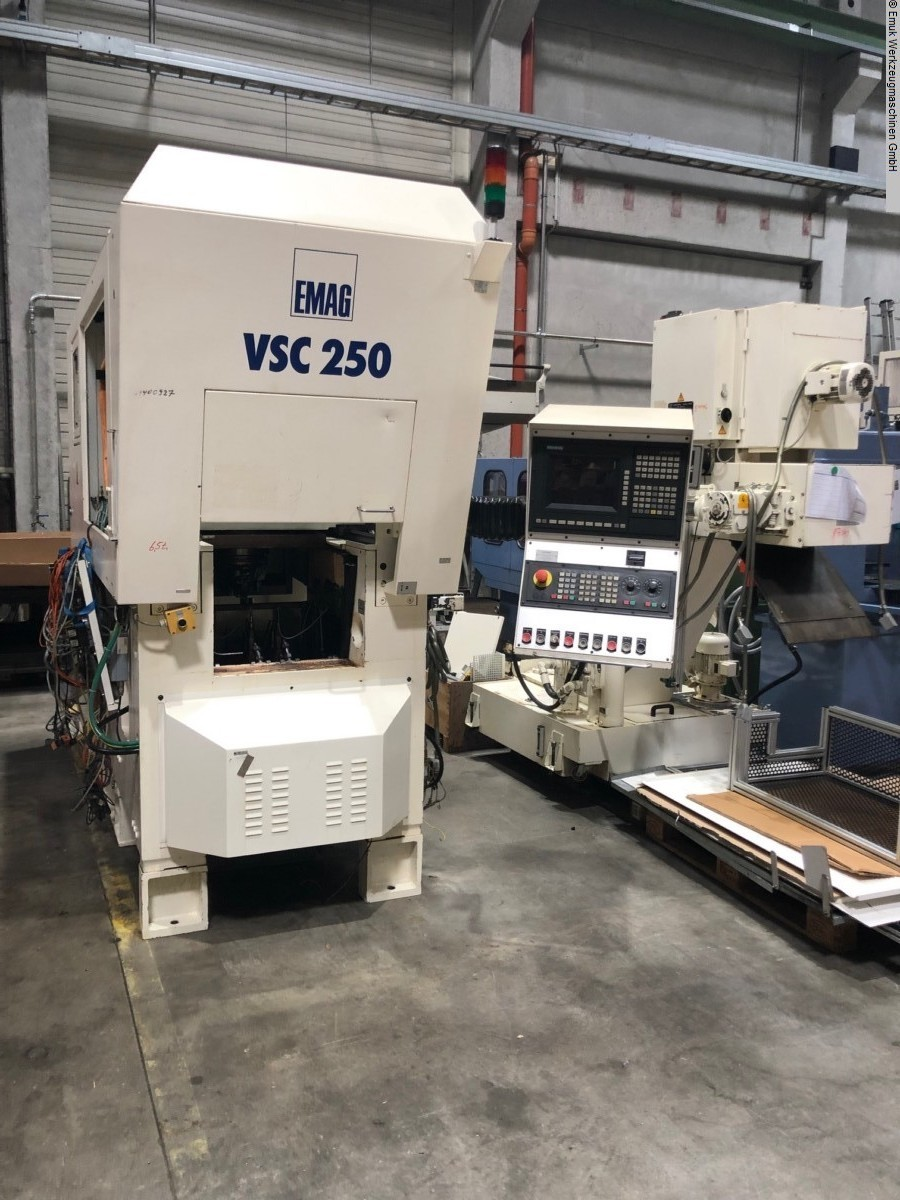 used  CNC Lathe EMAG VSC 250 MS