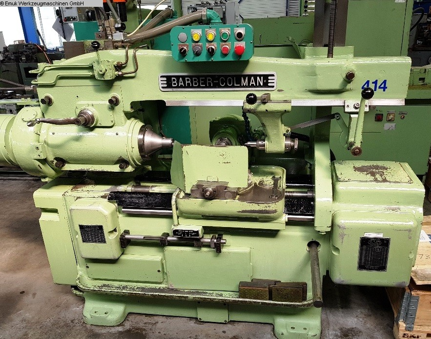 used Gear cutting machines Gear Hobbing Machine - Horizontal BARBER COLMAN 16 - 16