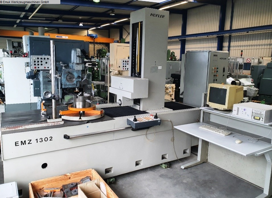 used Gear cutting machines Gear Testing Machine HOEFLER EMZ 1302