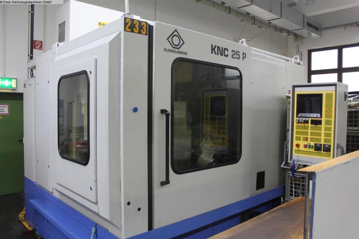gebrauchte Verzahnungsmaschinen Kegelradfräsmaschine-Bogenverzahnung KLINGELNBERG KNC 25 P