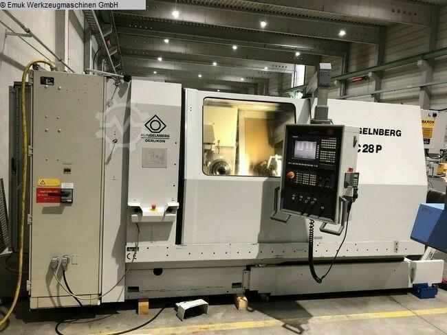 used Gear cutting machines Spiral Bevel Gear Cutting Machine KLINGELNBERG C 28P