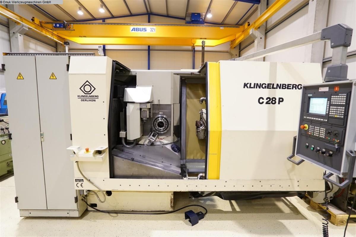 gebrauchte Verzahnungsmaschinen Spiralkegelradschneidmaschine KLINGELNBERG C 28 P