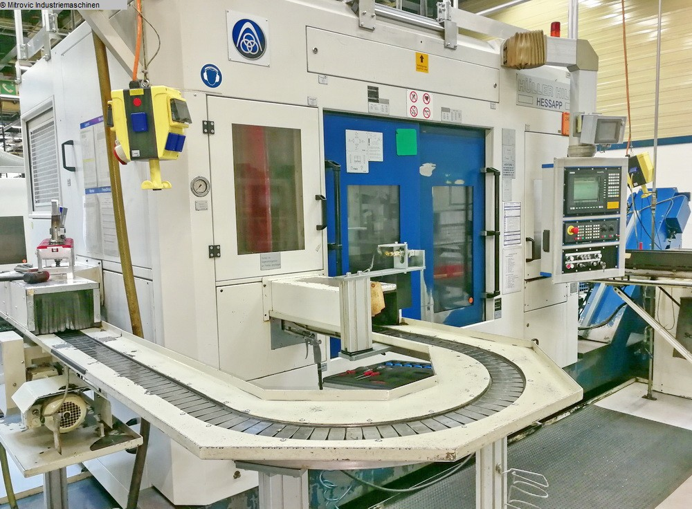 gebrauchte Maschine Vertikaldrehmaschine HESSAPP DVT 250L