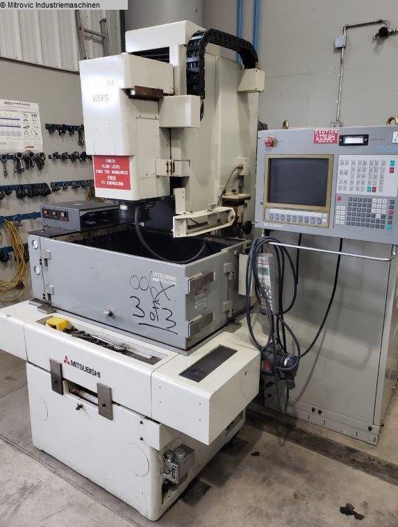 gebrauchte Erodiermaschinen Senkerodiermaschine MITSUBISHI V35FS