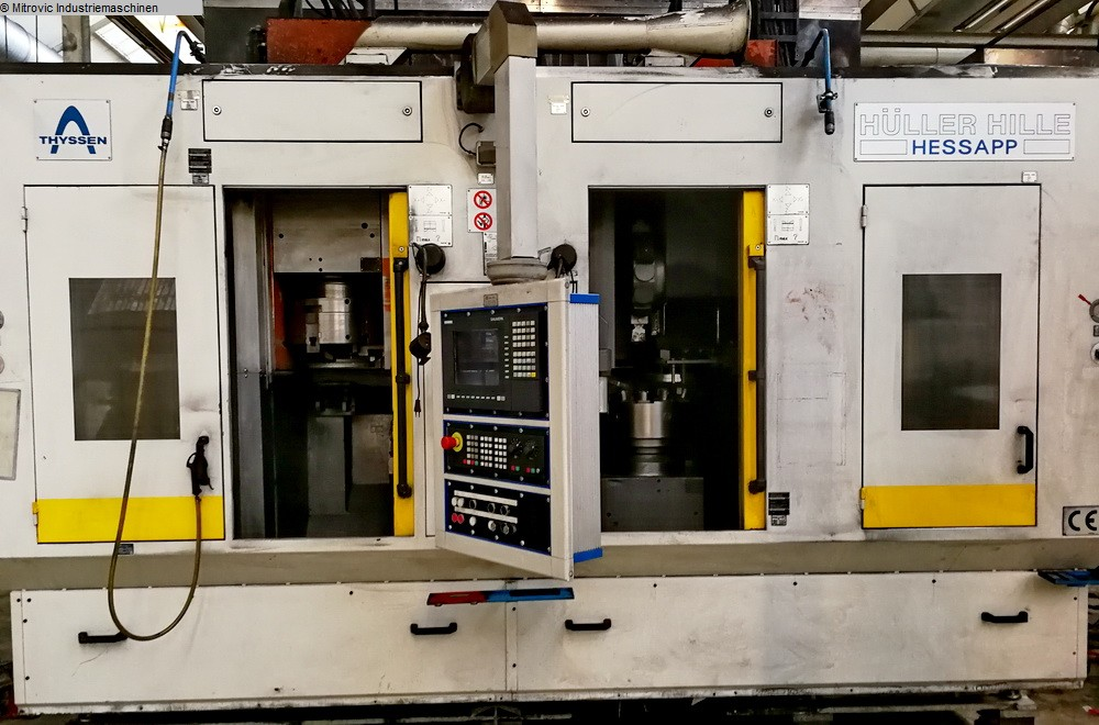 used  Vertical Turning Machine HESSAPP DVT 300L