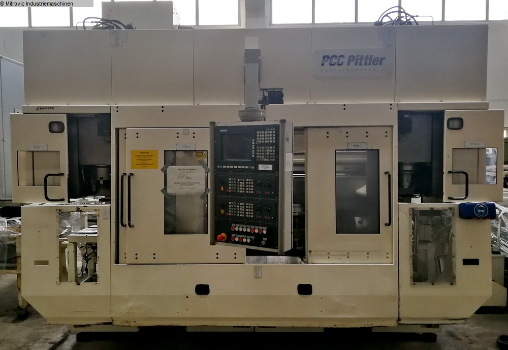 used  Vertical Turning Machine PITTLER PV SL1/2-2