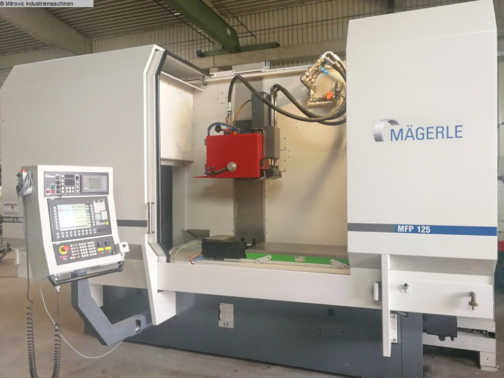 used Grinding machines Surface Grinding Machine - Horizontal MAEGERLE MFP 125-50-65