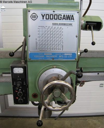 gebrauchte Maschine Radialbohrmaschine YODOGAWA YMR 1020