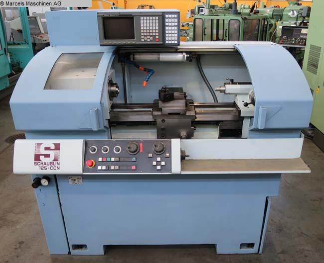 gebrauchte Maschine Drehmaschine - zyklengesteuert SCHAUBLIN 125 CCN