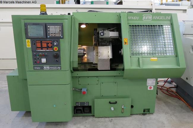 gebrauchte Maschine CNC Drehmaschine AVM ANGELINI Snupy