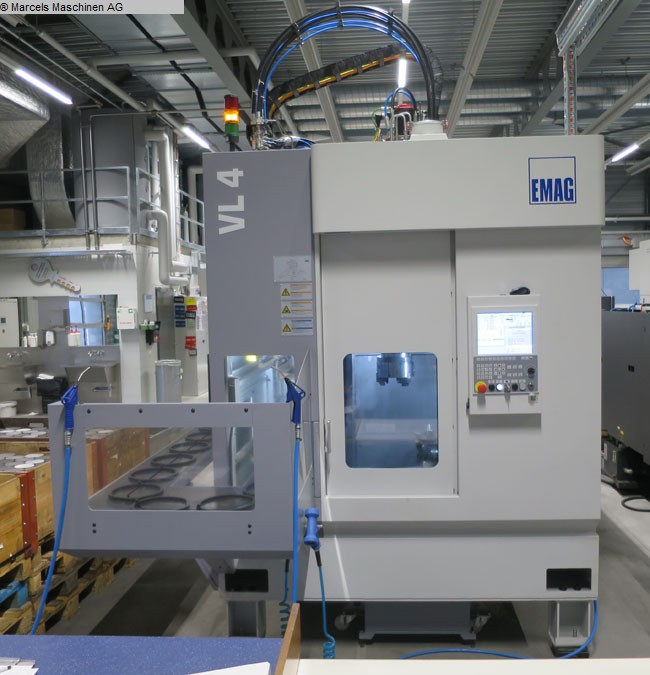 used Lathes CNC Turning- and Milling Center EMAG VL4 MY