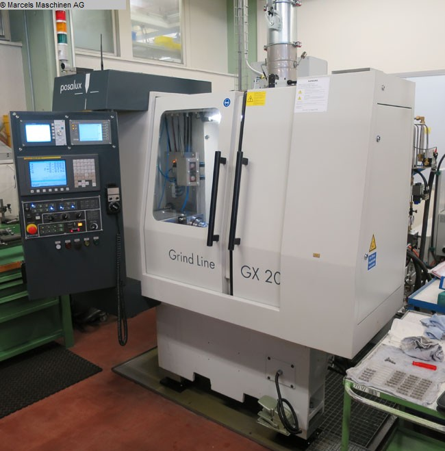 Rectifieuses cylindriques d'occasion POSALUX GX20