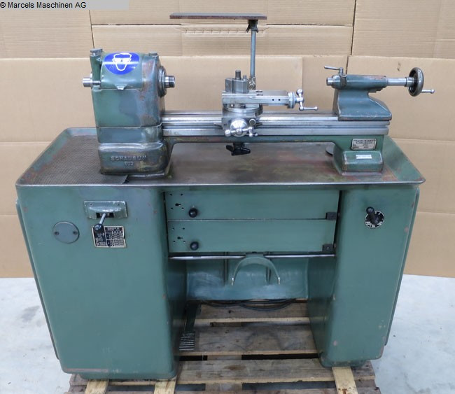 used Bench Lathe SCHAUBLIN 102