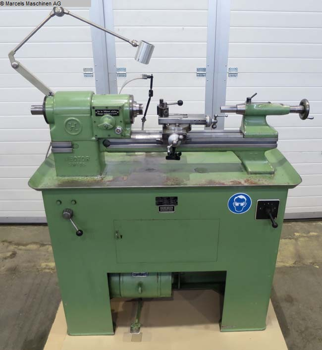 used Lathes Bench Lathe HABEGGER 2/73